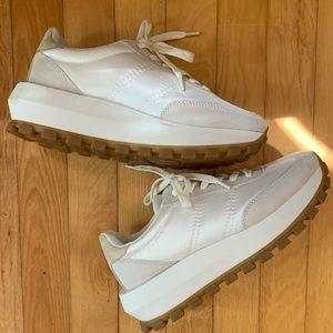 Platform White Sneakers